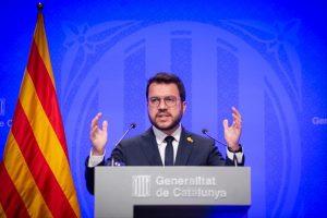 Aragonès Accuses Spanish Government Of Hiding Its Division By El Prat